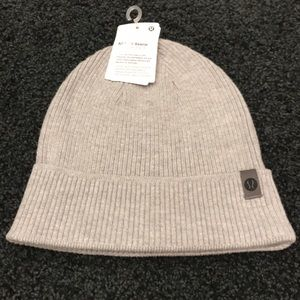 NWT Lululemon All for it Beanie